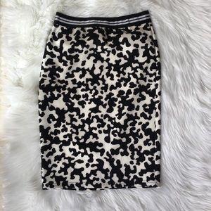 BONGO animal print skirt